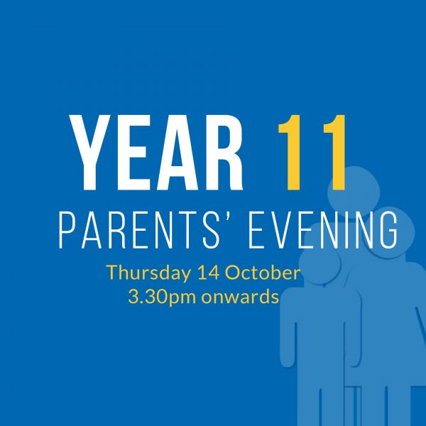 Year 11 Parents Evening 2021