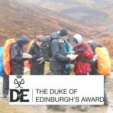 Silver Duke of Edinburgh Award training expedition - Easter 2016 - sq