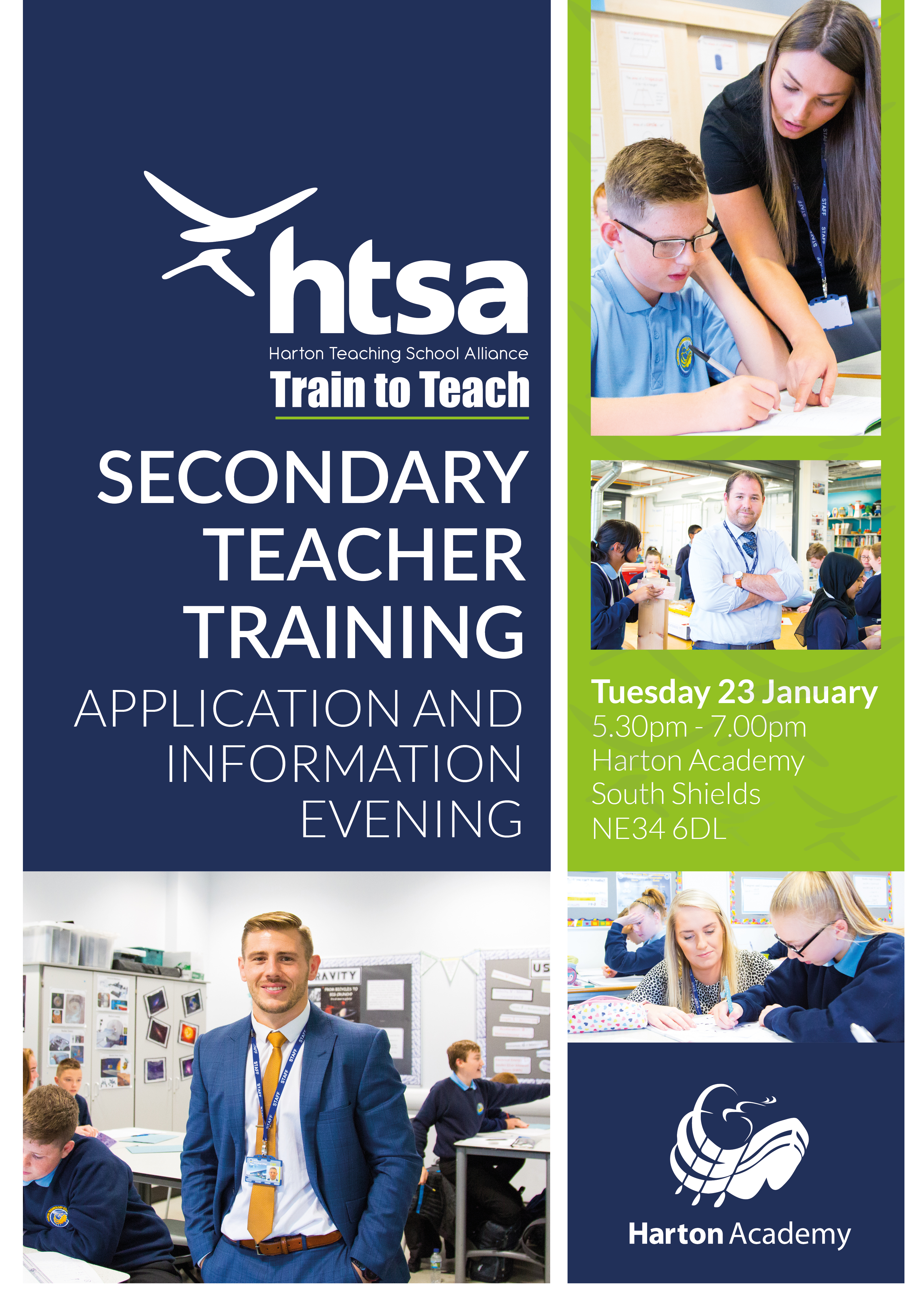 Secondary Teacher Training Application and information Evening