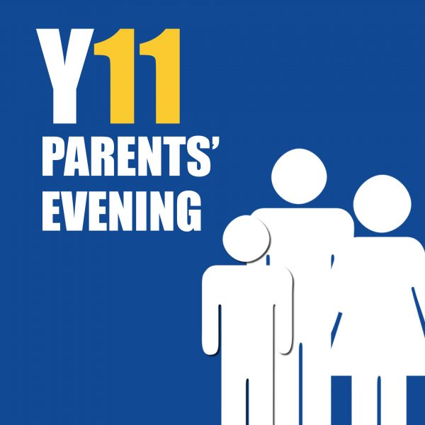 Y11 Parents Evening Reminder