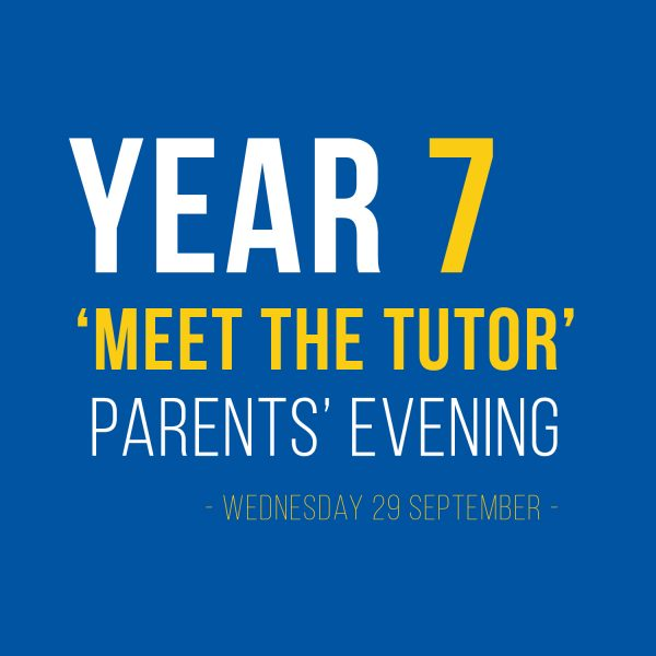 Meet the tutor Parents Evening