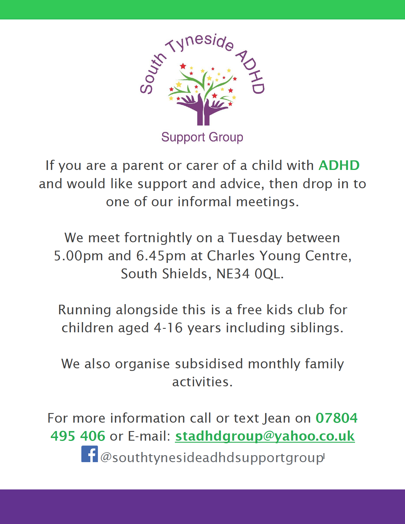 South Tyneside ADHD Support Group