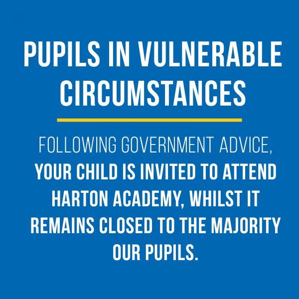 Pupils in Vulnerable Circumstances