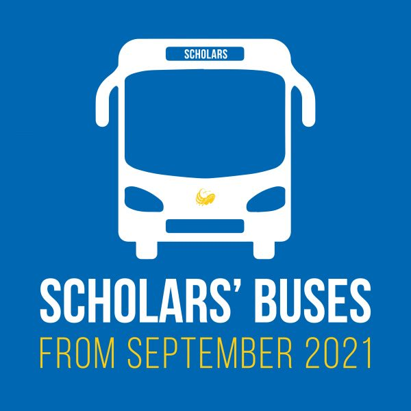 Scholars Buses from Sept 2021