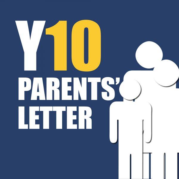 Parents Y10 Letter