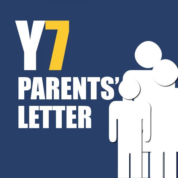 Parents Y7 Letter