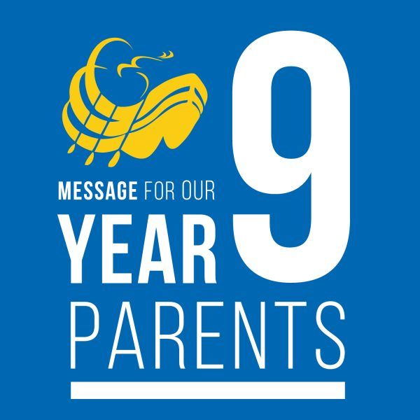 Message for our Year 9 Parents - SQ