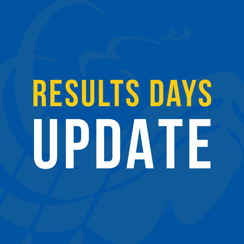 Results Days Update