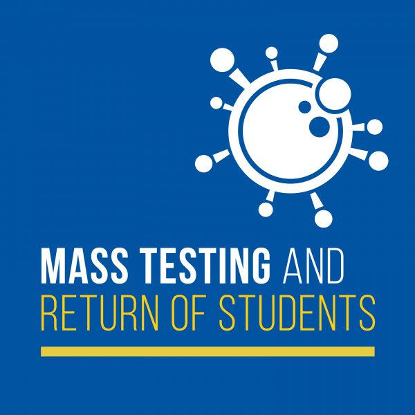 Mass testing and return of students