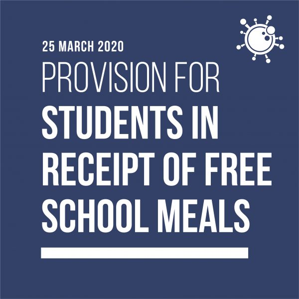 provision for students in receipt of free school meals 2