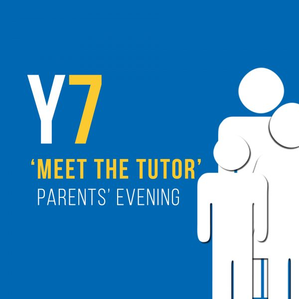 Y7 Meet the tutor parents evening