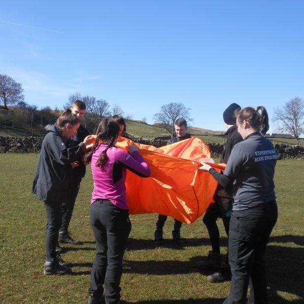 Ecuador expedition training in North Yorkshire