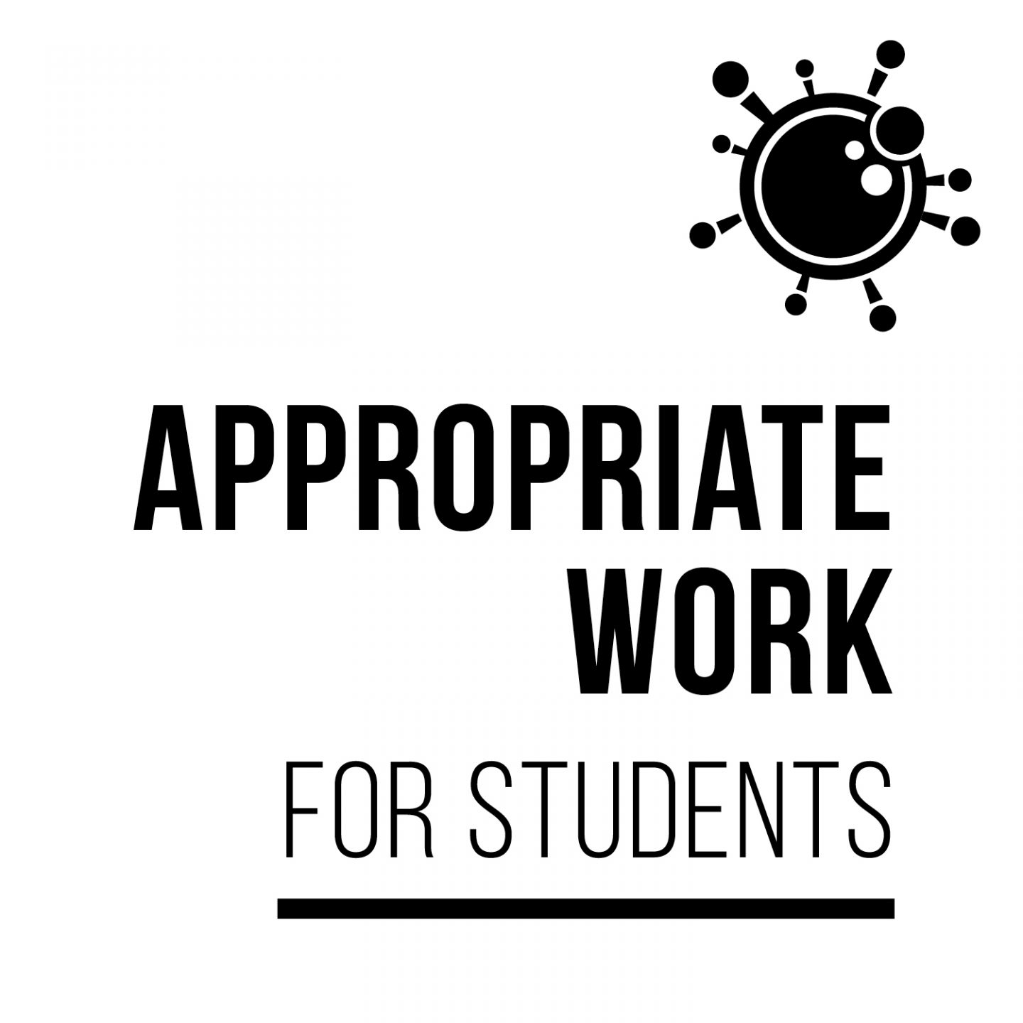 Appropriate work for students