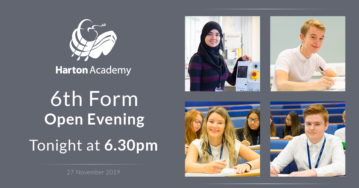 6th Form Open Evening FB advert 2019
