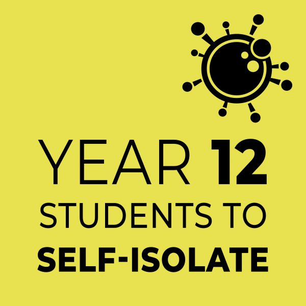 Year 12 Students to self-isolate