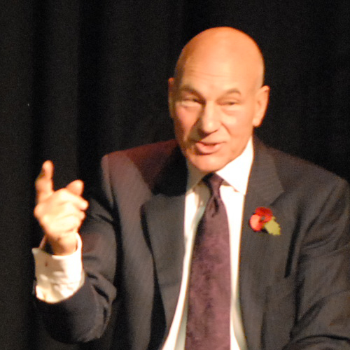 2008 - Sir Patrick Stewart